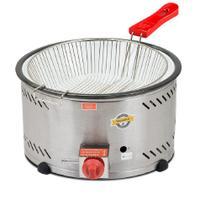 Tacho para fritura bacia em inox baixa pressão 7,5 litros c/ peneira th.2.178 marchesoni -