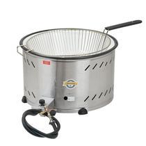 Tacho para fritura - bacia esmaltada - alta pressão - 7,5lt - c/ peneira - Marchesoni