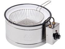 Tacho para Frituras Elétrico 3,5L - Inox TH.1.301 com Controle de Temperatura