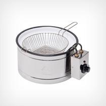 Tachos para fritura elétrico 3,5 litros com peneira - TH.1.302 (220V) - Marchesoni
