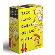 Taco Gato Cabra Queijo Pizza - Jogo de Cartas - Papergames - Retropunk