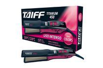 Taiff Chapa Titanium 450 Colors Pink Bivolt -