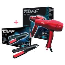 Taiff kit 220v - secador red ion 1900w + prancha red ion -
