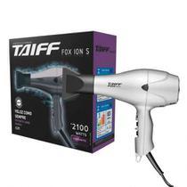 Taiff secador fox ion s prata profissional 2100w 110v -