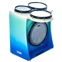 Tajon Master Plus Acústico Fsa Taj25 - Blue Fade - Fsa Cajons