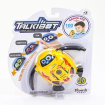 Talkibot Robô Gravador Silverlit Amarelo - DTC - Silverlit toys-dtc