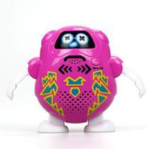 Talkibot Robô Gravador Silverlit Rosa - DTC -
