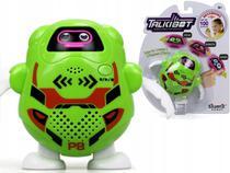 Talkibot Robô Gravador Silverlit Verde - DTC -