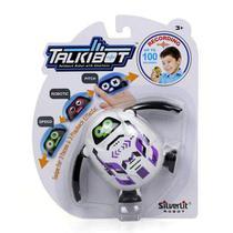 Talkibot silverlit dtc grava, repete e modula a voz -