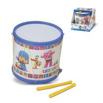 Tambor e Baquetas Pocoyo Divertido Instrumentos Musicais Infantis Cardoso Toys -