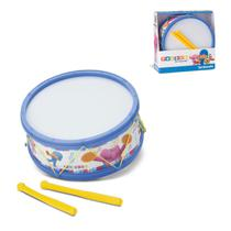 Tamborete Pocoyo e Baquetas Instrumentos Musicais Infantis Cardoso Toys -