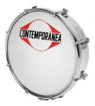 Tamborim contemporanea light cromado 206lt - Contemporânea
