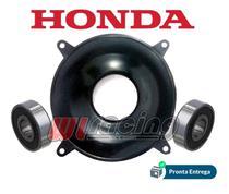 Tampa E Rolamentos Cubo Diant. Crf230 Xr250 Xr200 Original H - Honda