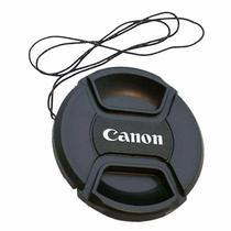 Tampa Frontal para Lente Canon 58mm -
