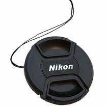 Tampa Para Lente Nikon Rosca De 52mm Com Logo Nikon - Oem
