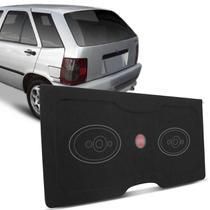 Tampão Porta Malas Tipo 1993 a 1997 Carpete Grafite Furos 6x9 Bagagito Fácil Instalação - R-acoustic