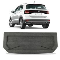 Tampão Volkswagen T-Cross 2019 a 2021 Bagagito Traseiro ABS Injetado Carpete Grafite - Regency