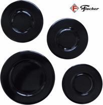 Tampinhas p/ Fogão Cooktop Fischer 4 bocas -