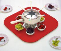 Tampo Tábua Prato Giratório para Mesa 60 cm - Vermelho Laca - Formalivre