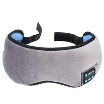 Tapa Olho Máscara Dormir Fone De Ouvido Bluetooth Confort - Ybx