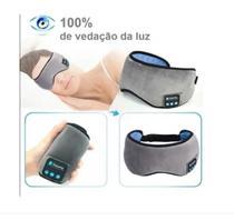 Tapa Olho Máscara Dormir Fone De Ouvido Bluetooth - Midy