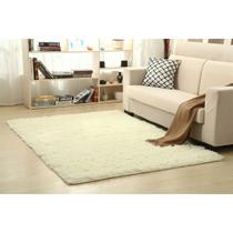 Tapete 200x250cm Branco New Shaggy Camesa -
