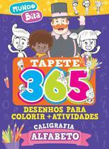 Tapete 365 Desenhos para Colorir + Atividades Mundo Bita - Online Editora -