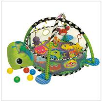 Tapete Atividade Interativo Tartaruga 3 Em 1 Piscina Bolinha - Color Baby -