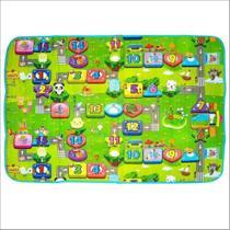 Tapete Atividades Infantil Bolsa 1,80x1,20 Dupla Face Isolante Térmico TOYS -