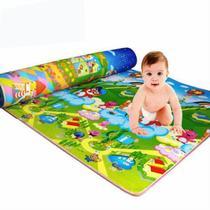 Tapete Atividades Infantil Dupla Face 1,80x1,20 * Colorido! - A Hora De Brincar