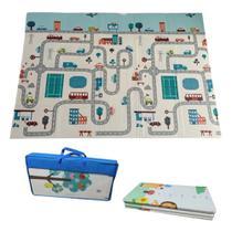 Tapete Atividades Infantil Luxo grosso com Bolsa 1,5x2,0m Isolante Térmico IM43008 - Casita