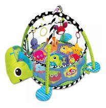 Tapete Atividades Tartaruga Cercadinho Piscina Bolinhas Bebe - Color Baby
