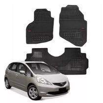 Tapete Borracha Honda Fit 2003 A 2014 Borcol Interlagos