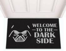 Tapete Capacho de Porta Decorativo Divertido Geek Filme Star Wars Dark Side - Jc Tapetes