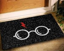 Tapete Capacho Harry Potter 60x40 - Preto - Megatap