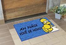 Tapete Capacho Limpe Sim 80x40 Homer Simpson Oh Não Você De Novo Lar Decor - Kapazi