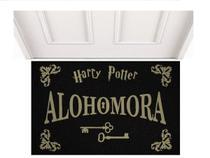 Tapete Capacho Limpe Sim  Alohomora Harry Potter Geek Divertido Casa Lar - Kapazi