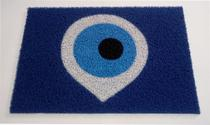 Tapete Capacho Limpe Sim Personalizado Decorativo Olho Grego 60x40 Cm - Kapazi