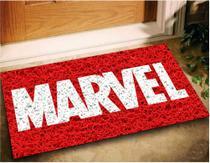 Tapete Capacho Marvel 60x40 - Vermelho - Megatap