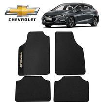 Tapete Carro Chevrolet Cruze Sport Universal Preto Bordado - Gt