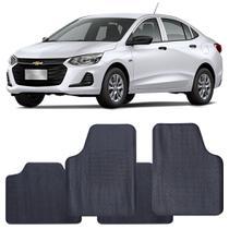 Tapete Chevrolet Onix Plus 2020 a 2021 Automotivo PVC Antiderrapante Jogo - Reese