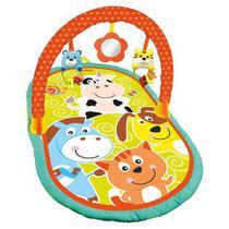 Tapete Com Arco De Atividades Baby - Animais - Buba -