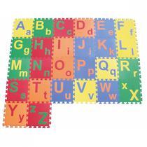Tapete de Atividades 26 Pecas Alfabeto Colorido  Ciabrink -