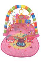 Tapete De Atividades com Piano Musical - Joy - Rosa - Color Baby -