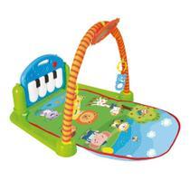 Tapete De Atividades Estimulador de Bebê Ginásio Pianinho - Buba Toys -