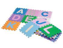 Tapete de Atividades EVA Mingone - Alfabeto 26 Peças 30x30cm cada