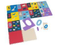Tapete de Atividades EVA Mingone - Brinque Números 12 Peças 20x20cm cada