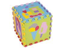 Tapete de Atividades EVA Mingone - Dado Desenho 6 Peças 30x30cm cada