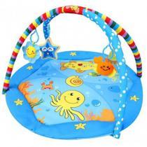Tapete de Atividades Infantil Azul Color Baby -