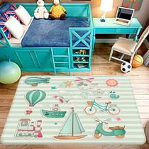 Tapete de Atividades Infantil Decorativo - Love decor